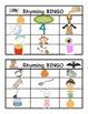 Rhyming Bingo, Literacy Centers,Games, Primary Grades