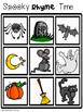 Rhyming Bingo Tic Tac Toe Boards