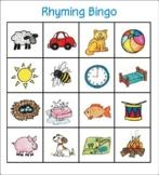 Rhyming Bingo - whole class set