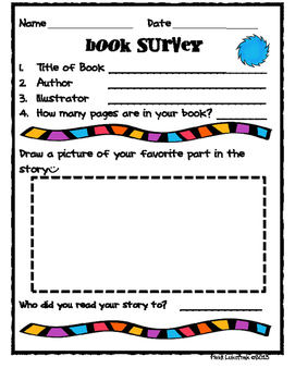 Rhyming Book Activity Packet