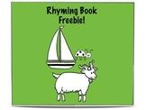 Rhyming Book Freebie