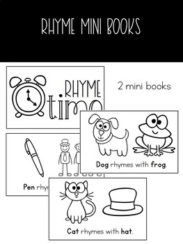 Rhyming Book with Sort