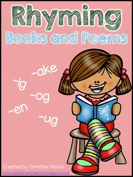 Rhyming Books and Poems {Set 2}