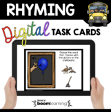Rhyming Boom Cards™ - Phonemic Awareness Distance Learning