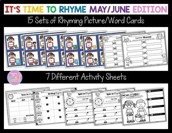 Rhyming For the Whole Year BUNDLE