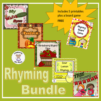 Phonemic Awareness - Rhyming Pack