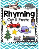 Rhyming CUT & PASTE Worksheets