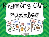 Rhyming CVC Puzzles