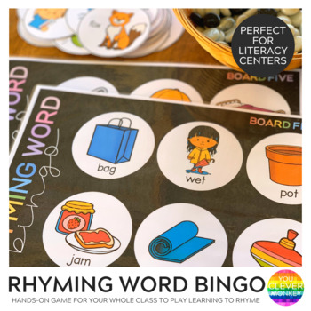 Rhyming CVC Word BINGO