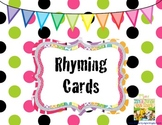 Rhyming Card Match Up