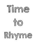 Rhyming Cards {Multi-Use}