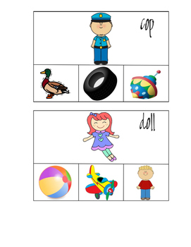 Rhyming Cards - RTI Activity