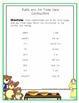 Rhyming Cards and Contractions Sheet
