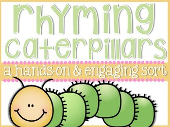 Rhyming Caterpillars