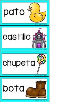 Rhyming Center in Spanish
