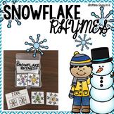 Rhyming Center - snowflake themed