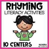 Rhyming Centers for Pre-K and Kindergarten {BUNDLE}