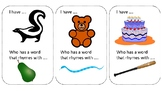 Rhyming Circle Cards