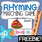 Rhyming - Matching Game