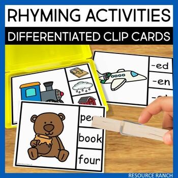 Rhyming Clip Cards