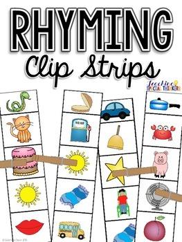 Rhyming Clip Strips