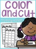 Rhyming Color, Cut, & Glue