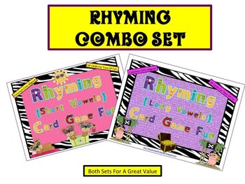 Rhyming Combo Pack (Common Core Aligned)