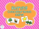 Rhyming Concentration Cards