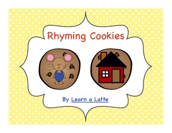 Rhyming Cookies - If You Give a Mouse a Cookie