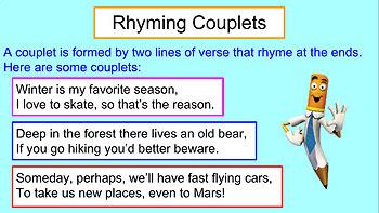 Rhyming Couplets Presentation