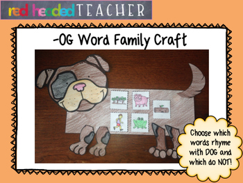 -og Word Family Craft