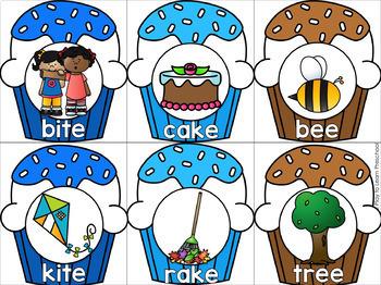 Rhyming Cupcake Game