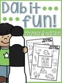 Rhyming Dab it Fun!