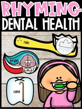 Rhyming Dental Health Sensory Bin | Dental Health Literacy Center