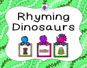 Rhyming Dinosaurs