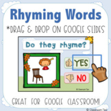 Rhyming (Distance Learning-Google Classroom-Lucy Calkins Phonics)