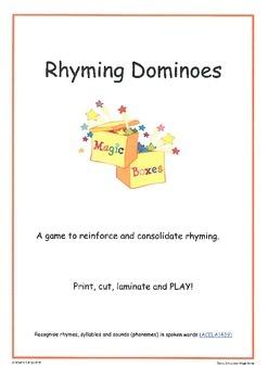 Rhyming: Dominoes