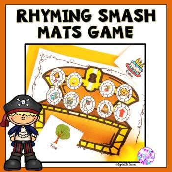Rhyming Smash Mat Game