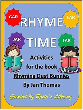 Rhyming Dust Bunnies Activities and Lesson Plans