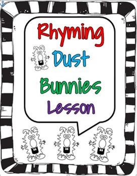 Rhyming Dust Bunny Lesson