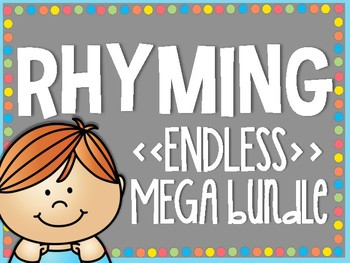 Rhyming ENDLESS MEGA Bundle