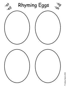 Rhyming Easter Eggs