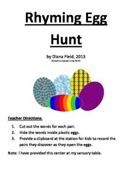 Rhyming Egg Hunt