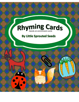 Rhyming Enrichment Cards