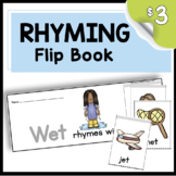 Rhyming FLIP BOOKS - Word Families - Literacy Centers - Rh