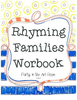 Rhyming Families Workbook