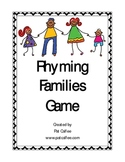 Rhyming Families