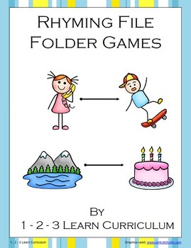 Rhyming File Folder Games