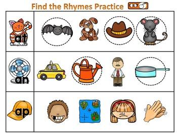 Rhyming-Find the Rhymes