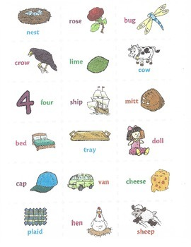 Rhyming Flashcards